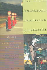 The Heath Anthology of American Literature 5th edition 9780618533008 0618533001