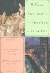 The Heath Anthology of American Literature 5th edition 9780618532995 0618532994
