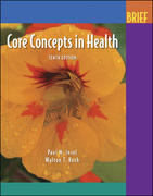 Core Concepts In Health Brief with PowerWeb 10th edition 9780073138886 0073138886