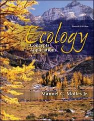 Ecology: Concepts and Applications 4th Edition 9780073309767 0073309761