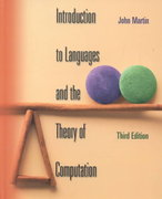 Introduction to Languages and the Theory of Computation 3rd edition 9780072322002 0072322004