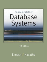 Database systems homework solutions