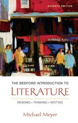 The Bedford Introduction to Literature 7th Edition 9780312412425 0312412428