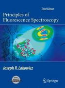 Principles of Fluorescence Spectroscopy 3rd edition 9780387312781 0387312781
