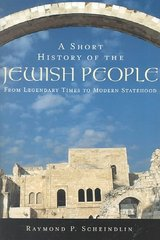 A Short History of the Jewish People 1st Edition 9780195139419 0195139410