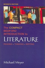 The Compact Bedford Introduction To Literature 7th edition 9780312434458 0312434456