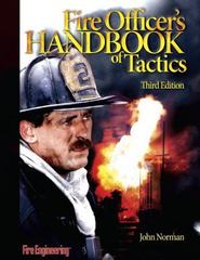 Fire Officer's Handbook of Tactics 3rd edition 9781593700614 159370061X
