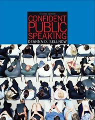Confident Public Speaking (with CD-ROM and InfoTrac) 2nd edition 9780534551926 0534551920