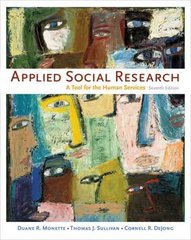 Applied Social Research 7th edition 9780495392460 0495392464