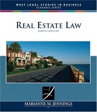 Real Estate Law 8th edition 9780324650204 0324650205