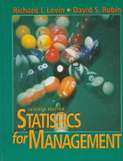 Statistics for Management 7th Edition 9780134762920 0134762924