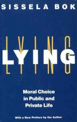 Lying 2nd Edition 9780375705281 0375705287