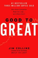 Good to Great 1st Edition 9780066620992 0066620996