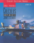 Student Solutions Manual for Stewart's Single Variable Calculus: Concepts and Contexts (with CD), 2nd 2nd edition 9780534379230 0534379230