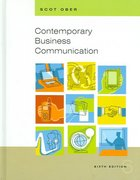 Contemporary Business Communication 6th edition 9780618472529 0618472525