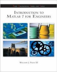 Introduction to Matlab 7 for Engineers 2nd Edition 9780072922424 0072922427