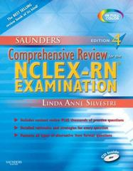 Saunders Comprehensive Review for the NCLEX-RN  Examination 4th Edition 9781416037088 141603708X