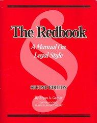 The Redbook 2nd edition 9780314168917 0314168915
