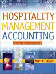 Hospitality Management Accounting 9th Edition 9780471687894 0471687898