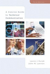 A Concise Guide to Technical Communication 3rd edition 9780321391681 0321391683