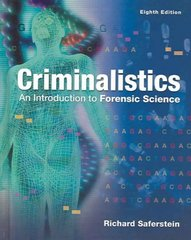 Criminalistics 8th edition 9780131118522 0131118528