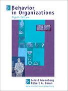 Behavior in Organizations 8th edition 9780130664914 013066491X
