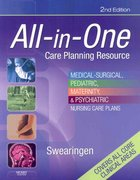 All-in-One Care Planning Resource 2nd edition 9780323044165 0323044166
