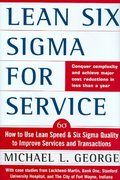 Lean Six Sigma for Service 1st Edition 9780071418218 0071418210