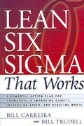 Lean Six Sigma That Works 0 9780814473474 0814473474