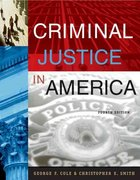 Criminal Justice in America (with CD-ROM and InfoTrac) 4th edition 9780534629649 0534629644