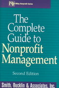 The Complete Guide to Nonprofit Management 2nd Edition 9780471380627 0471380628