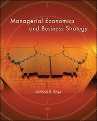 Managerial Economics and Business Strategy 6th edition 9780073375687 0073375683