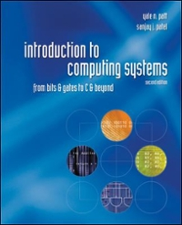 Introduction to Computing Systems 2nd edition 9780072467505 0072467509