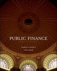 Public Finance 8th edition 9780073511283 0073511285
