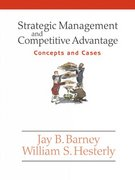 Strategic Management and Competitive Advantage 0 9780131542747 0131542745