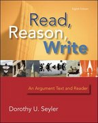 Read, Reason, Write - book alone 8th edition 9780073533209 0073533203