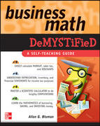 Business Math Demystified 1st Edition 9780071464703 0071464700