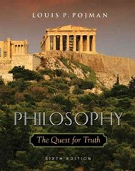 Philosophy: The Quest for Truth 6th edition 9780195189445 0195189442