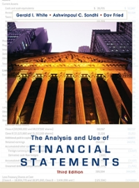 The Analysis and Use of Financial Statements 3rd edition 9780471375944 0471375942