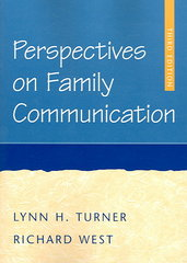 Perspectives on Family Communication 3rd Edition 9780072862928 0072862920
