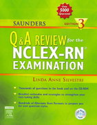 Saunders Q & A Review for the NCLEX-RN® Examination 3rd edition 9780721603520 0721603521