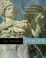 Great Traditions in Ethics 12th edition 9780495094982 0495094986