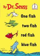 One Fish Two Fish Red Fish Blue Fish 0 9780394800134 0394800133