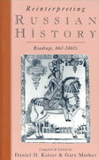Reinterpreting Russian History 1st Edition 9780195078589 0195078586