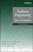 Nonlinear Programming 3rd edition 9780471486008 0471486000