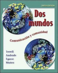 Dos mundos Student Edition with Online Learning Center Bind-in Passcode 6th edition 9780073046075 0073046078