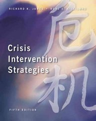 Crisis Intervention Strategies (with InfoTrac ) 5th Edition 9780534569662 0534569668