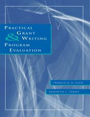 Practical Grant Writing and Program Evaluation 1st edition 9780534545086 0534545084