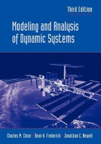 Modeling and Analysis of Dynamic Systems 3rd edition 9780471394426 0471394424