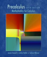 Precalculus 5th Edition 9780534492779 0534492770